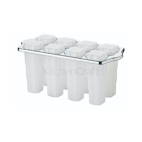 KC LOLLY MAKERS 8PC WITH STAND