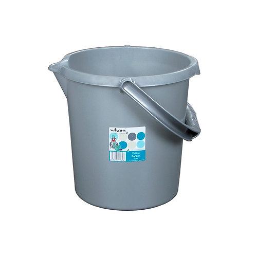 Casa 10L Bucket Silver