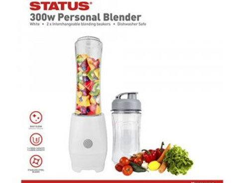Vancouver  - White/Grey - 300w - Table Blender - Status - 1 pk