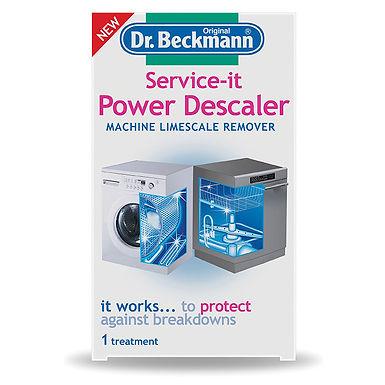 Dr Beckmann Service It Power Descaler - Machine Limescale Remover 2 x 50gm