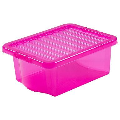 Crystal Box & Lid Tint Pink