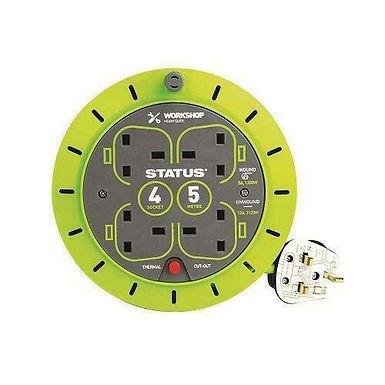 5 Mtr - 13 amp - 4 Socket Outlet