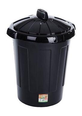 Eden 80L Dustbin Black