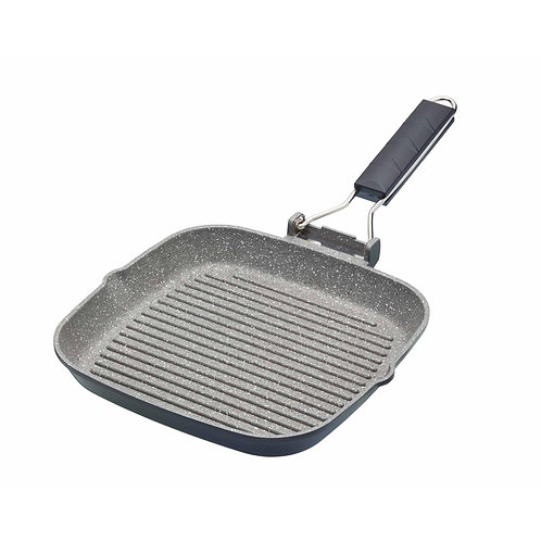 MC GRILL PAN 20CM MARBLE COATING