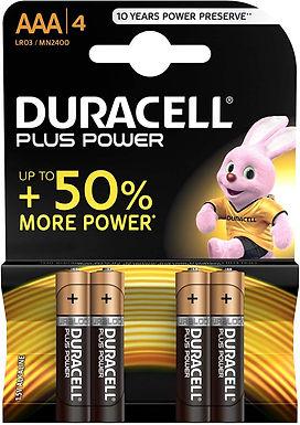 Duracell MN2400 / AAA / 1.5V  Batteries 4pk