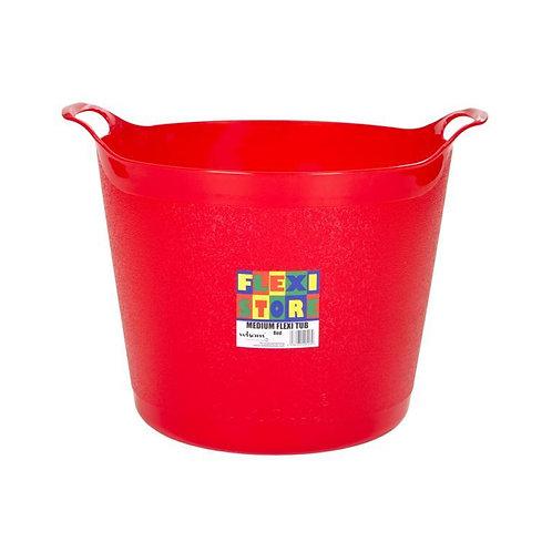 Flexi-Store Graduated Round Tub Red