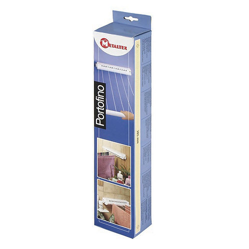 Metaltex Portofino 5 Line Pull Out Airer
