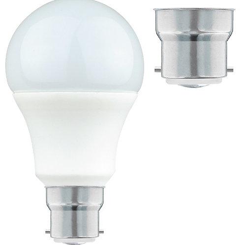9w = 60w =  806 lumens - Status - LED - A60 GLS - BC - PA - Pearl
