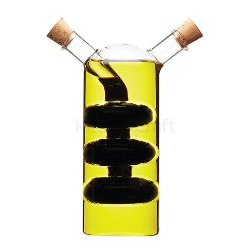 KC OIL/VINEGAR BOTTLE 300/100ML GLASS