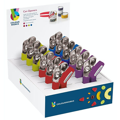 CW CAN OPENER CDU12 ASSORTED COLOURS
