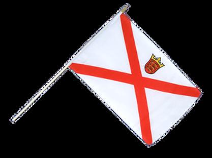 Jersey Hand Flag