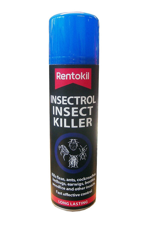 Rentokil Insectrol Insect Killer Spray 250ml (Blue Top)