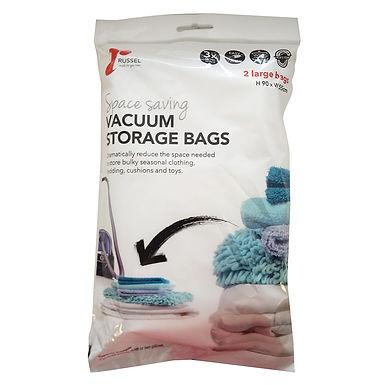 2 Large Vacuum Bag 90 x 55cm
