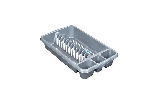 Casa Medium Dish Drainer Silver