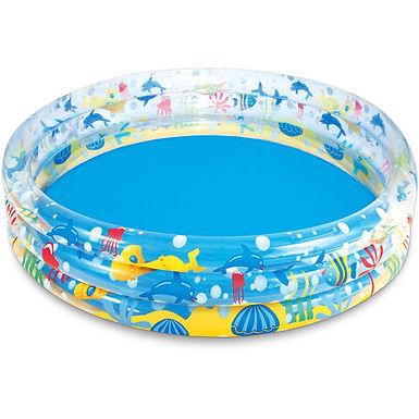 "60""x12"" Deep Dive 3-Ring Pool 1.52Mtr x 30cm"