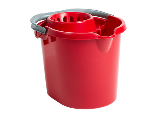17451  Wham Mop Bucket Chilli Red
