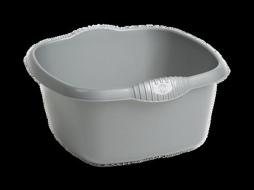 Casa 32cm Square Bowl Silver