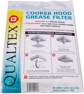 600MM COOKER HOOD FILTER GREASE FIL132