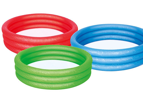 "SPLASH & PLAY 48"" 3 RING PLAY POOL ASSORTED"
