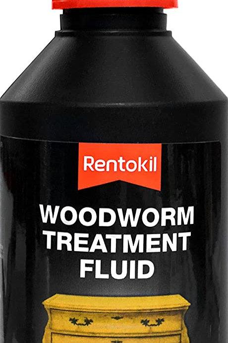 Rentokil Woodworm Treatment Fluid 250ml