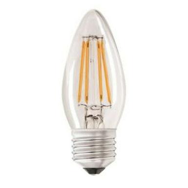 4w = 40w =  470 lumens - Status - Filament LED - Candle - ES - Clear