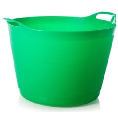 Flexi-Store Graduated Round Tub Green