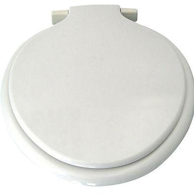 Heavyweight Thermoplastic Toilet Seat White (Calypso)