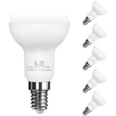 6w = 40w = 470 lumens - Status - LED - R50 - Reflector Spot - SES - 1 pk