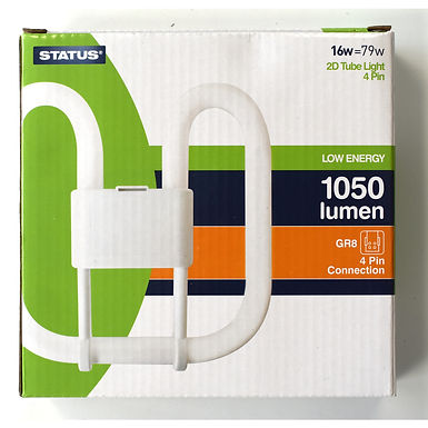 16w = 79w - Status - Low Energy - 2D - Warm White - 4 Pin - 1 pk box