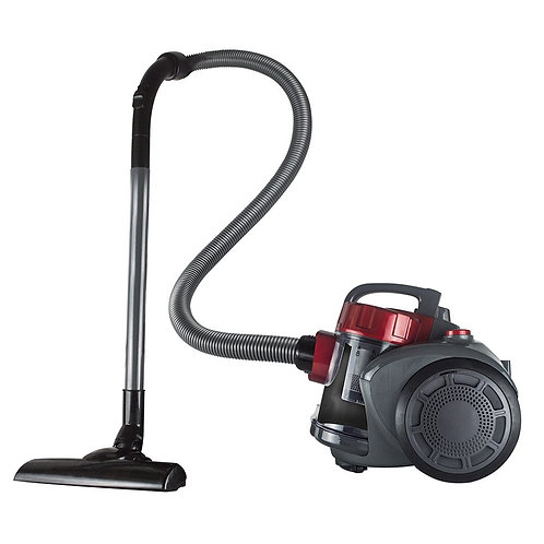 Houston - Red/Grey - 700w - Cannister Bagless Vacuum - Status - 1 pk
