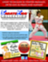 Karate Kids™ Collection Promotional Flier