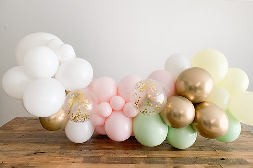 6 Ft Organic Balloon Garland