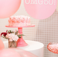 confetti and wishes x kim's 50th birthda