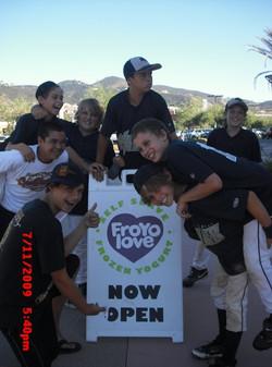 froyo baseball