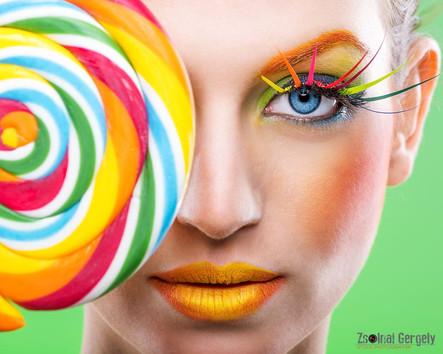 Mester Make Up kampányfotó