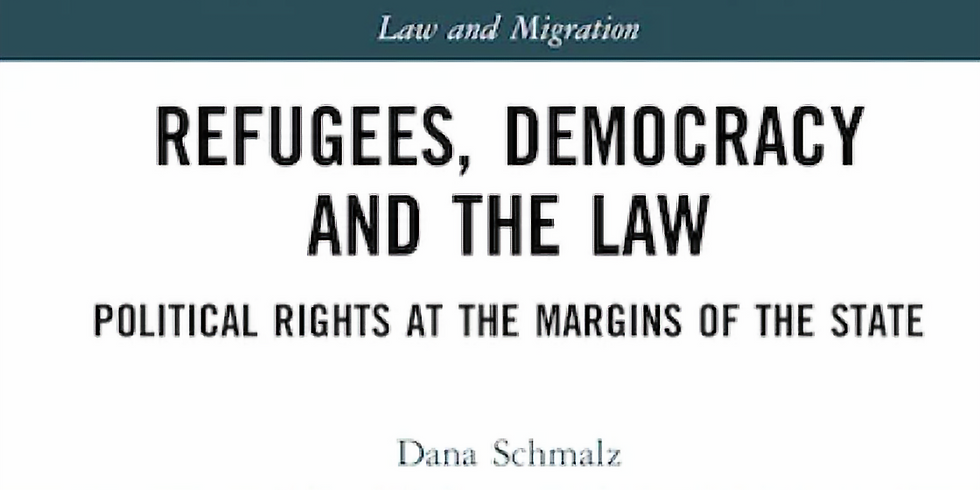 REFUGEES DEMOCRACY AND THE LAW