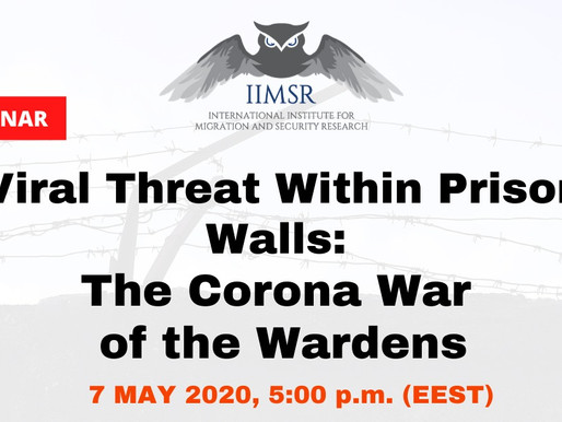 "WEBINAR ""Viral threat within prison walls: The Corona war of the wardens"""
