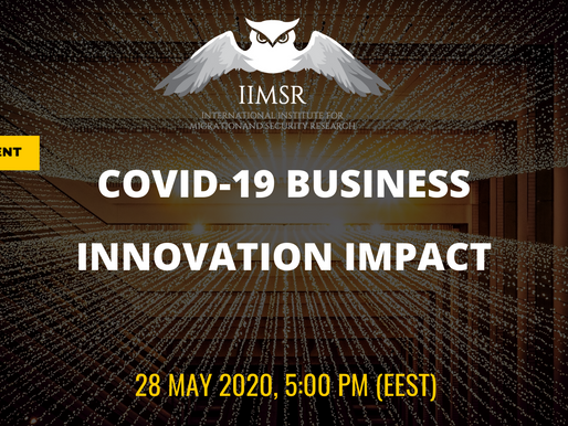 "WEBINAR: ""COVID-19 Business Innovation Impact"""