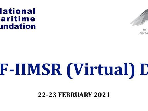 2nd NMF-IIMSR (Virtual) Dialogue