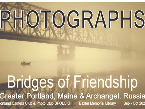 Photography Exhibition Opens at Gorham Public Library
