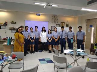 Workshop at Shiv Nadar School, Noida
