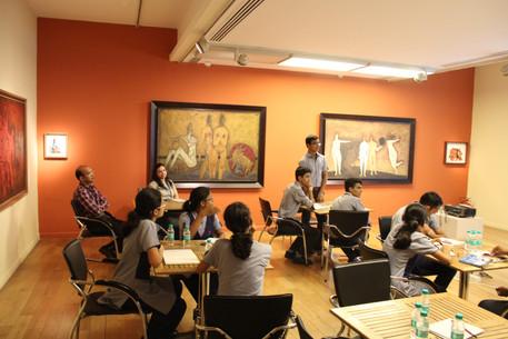Vidya Gyan Workshop at KNMA
