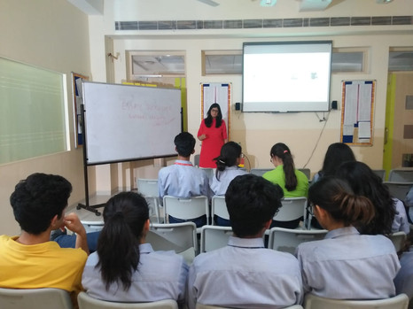 Workshop at Shiv Nadar, Gurgaon