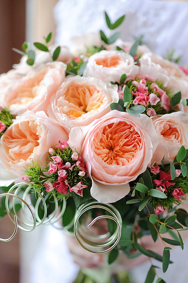Juliet English Garden Rose Bouquet