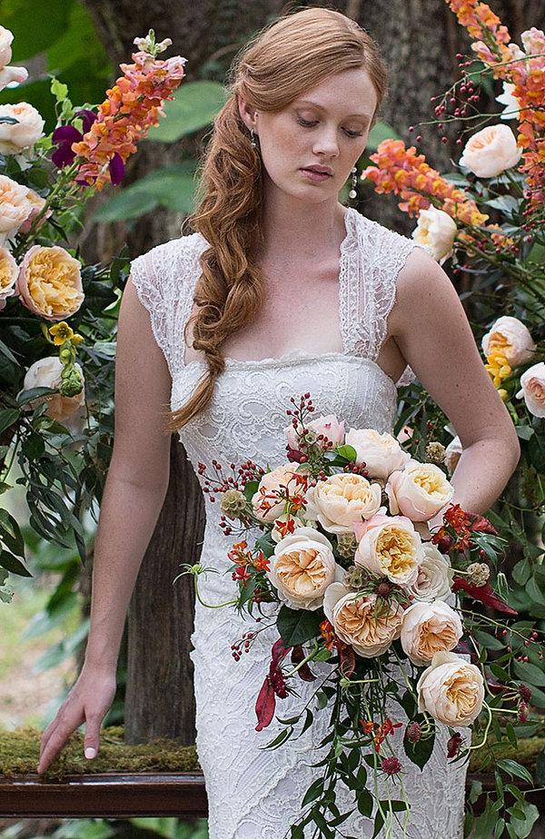 Edith English Garden Rose Boquet