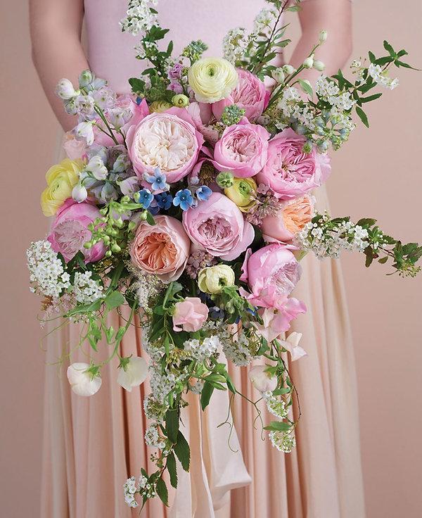 Constance English Garden Rose Bouquet
