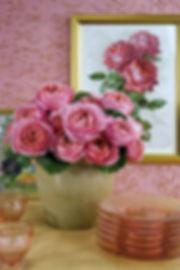 Romntic Antike Deluxe Garden Rose arrangement