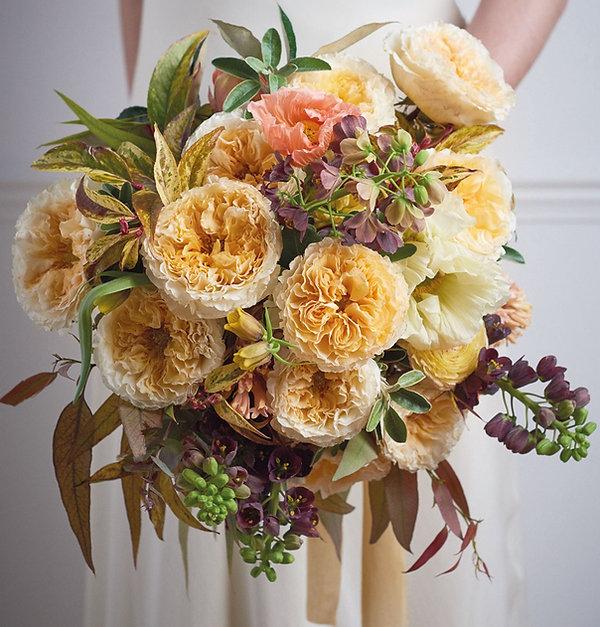 Beatrice English Garden Rose Bouquet