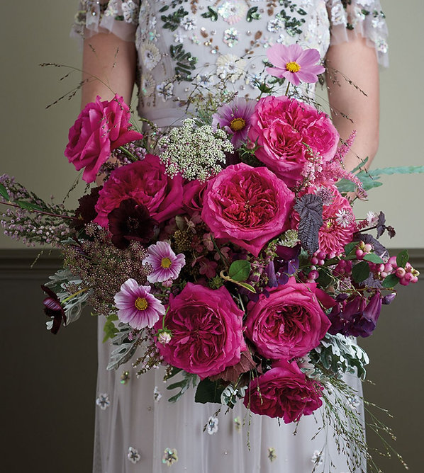 Capability English Garden Rose Bouquet