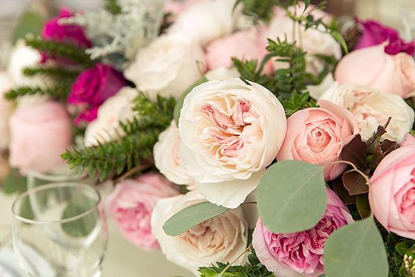 Mayra's Bridal Pink Deluxe Garden Rose arrangements